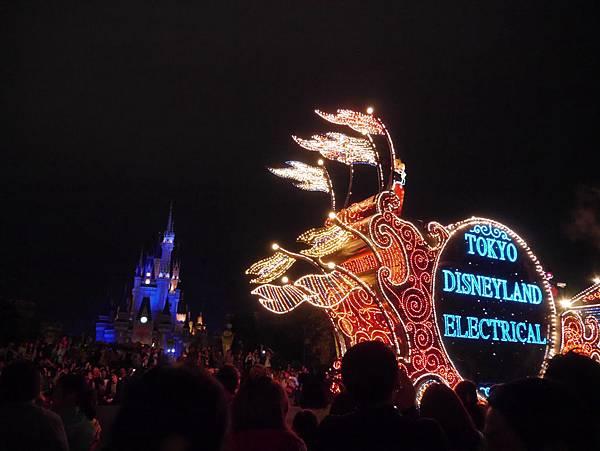 Tokyo Disneyland 東京迪士尼樂園 夜間遊行 東京迪士尼夢之光夜間遊行 (16)