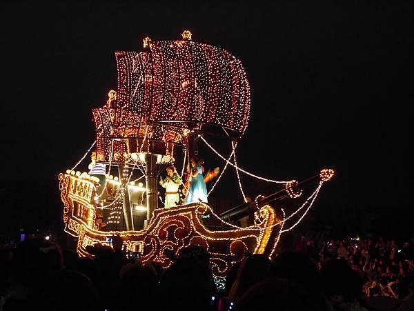 Tokyo Disneyland 東京迪士尼樂園 夜間遊行 東京迪士尼夢之光夜間遊行 (35)