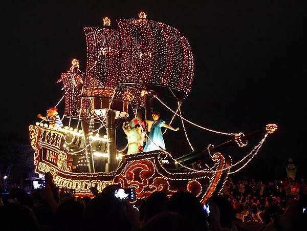 Tokyo Disneyland 東京迪士尼樂園 夜間遊行 東京迪士尼夢之光夜間遊行 (36)