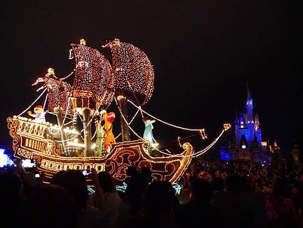 Tokyo Disneyland 東京迪士尼樂園 夜間遊行 東京迪士尼夢之光夜間遊行 (37)