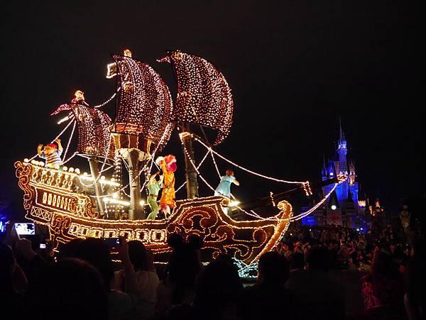 Tokyo Disneyland 東京迪士尼樂園 夜間遊行 東京迪士尼夢之光夜間遊行 (38)