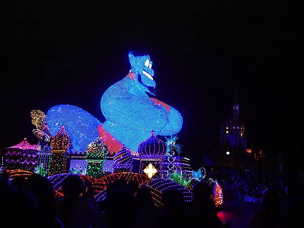 Tokyo Disneyland 東京迪士尼樂園 夜間遊行 東京迪士尼夢之光夜間遊行 (54)