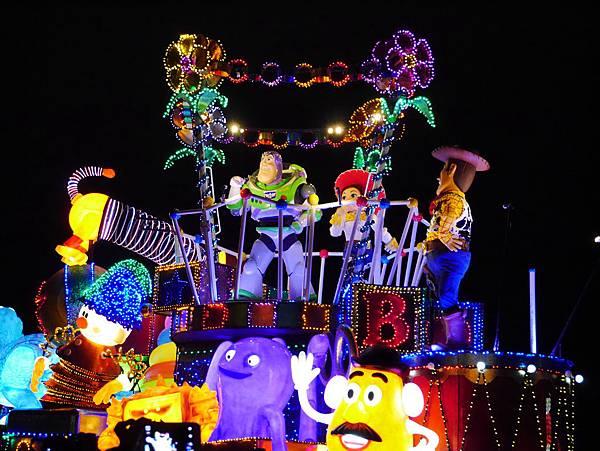 Tokyo Disneyland 東京迪士尼樂園 夜間遊行 東京迪士尼夢之光夜間遊行 (74)