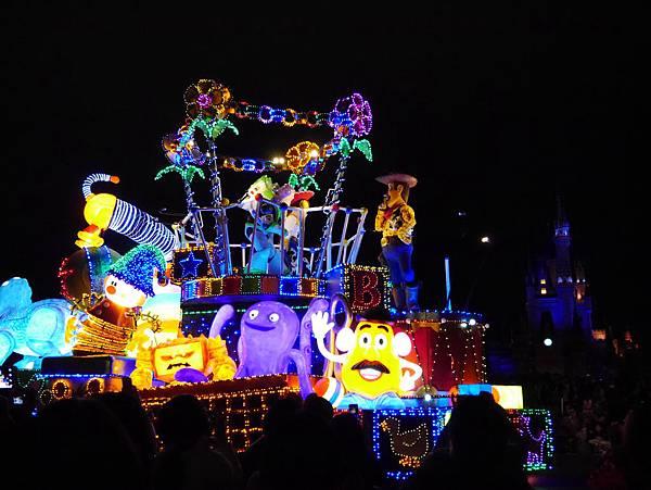 Tokyo Disneyland 東京迪士尼樂園 夜間遊行 東京迪士尼夢之光夜間遊行 (75)