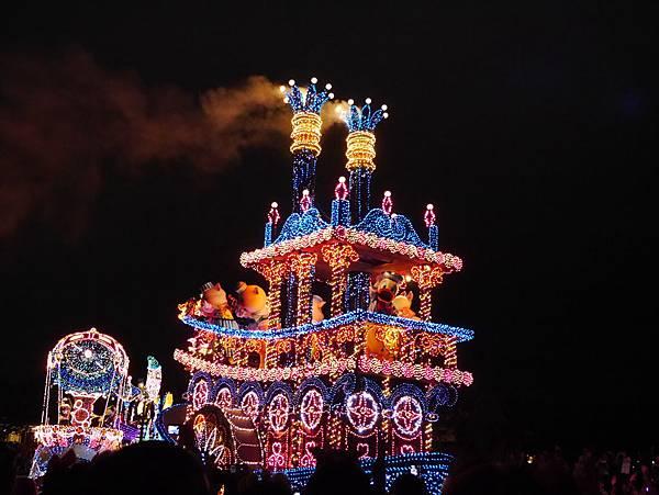 Tokyo Disneyland 東京迪士尼樂園 夜間遊行 東京迪士尼夢之光夜間遊行 (105)