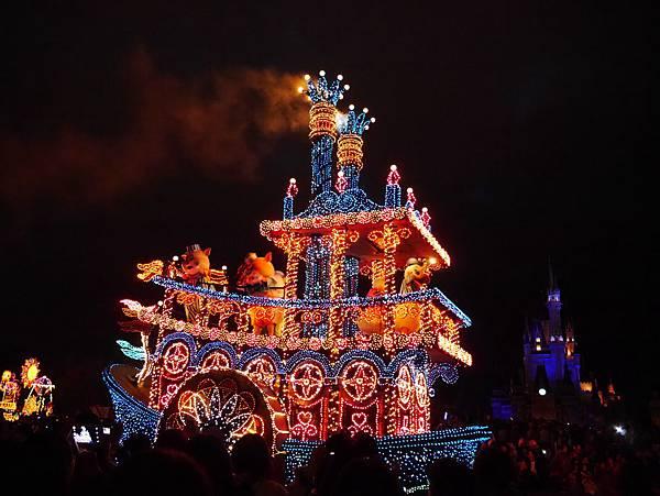 Tokyo Disneyland 東京迪士尼樂園 夜間遊行 東京迪士尼夢之光夜間遊行 (107)
