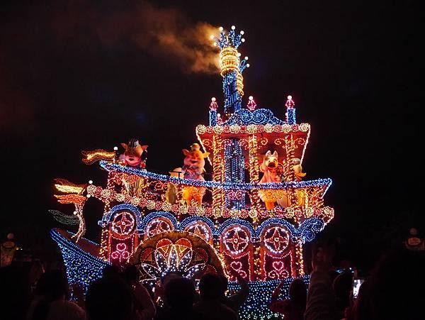 Tokyo Disneyland 東京迪士尼樂園 夜間遊行 東京迪士尼夢之光夜間遊行 (108)
