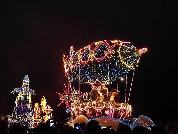 Tokyo Disneyland 東京迪士尼樂園 夜間遊行 東京迪士尼夢之光夜間遊行 (109)