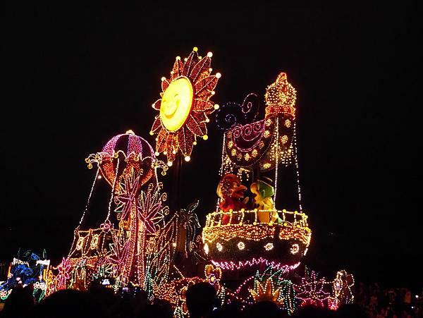 Tokyo Disneyland 東京迪士尼樂園 夜間遊行 東京迪士尼夢之光夜間遊行 (115)