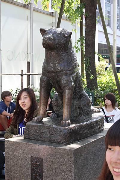 3 澀谷 八公忠犬銅像 OS藥妝 元祖壽司 SHIBUYA 109 (10)