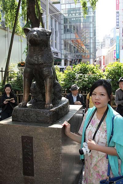3 澀谷 八公忠犬銅像 OS藥妝 元祖壽司 SHIBUYA 109 (12)