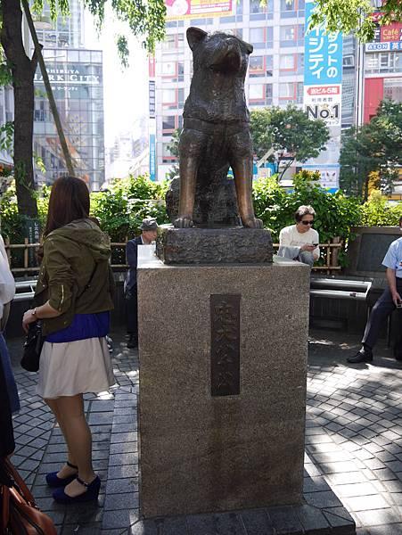 3 澀谷 八公忠犬銅像 OS藥妝 元祖壽司 SHIBUYA 109 (11)
