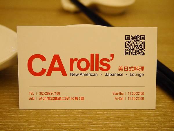 CA rolls