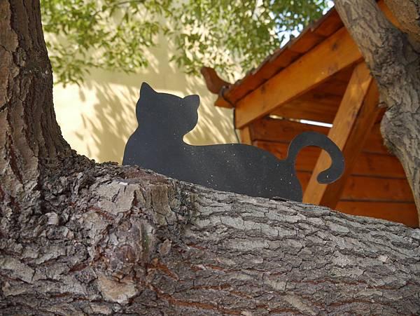 4雲林頂溪貓彩繪村 屋頂上的貓 (32)