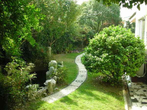 愛上綠綠的庭院