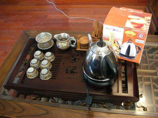 泡茶組+電熱水壺