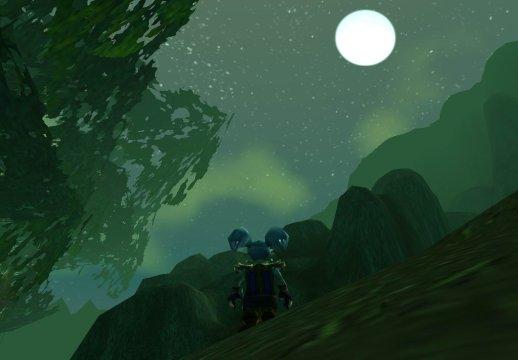 環形山之月色