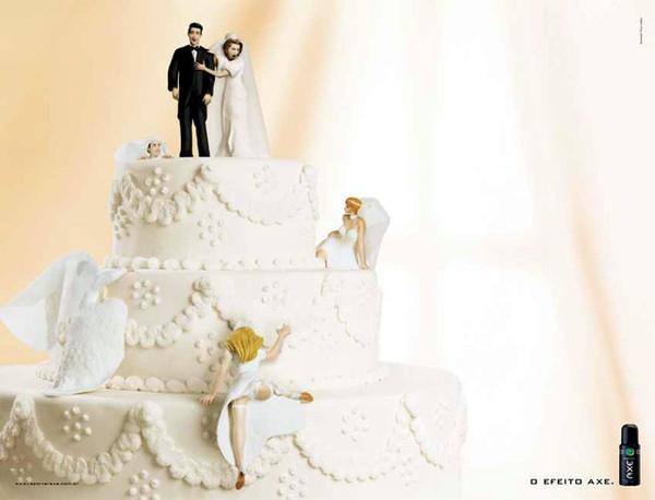 大家搶著要的結婚蛋糕