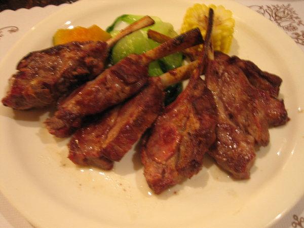 杜老爺--香烤羊肋排