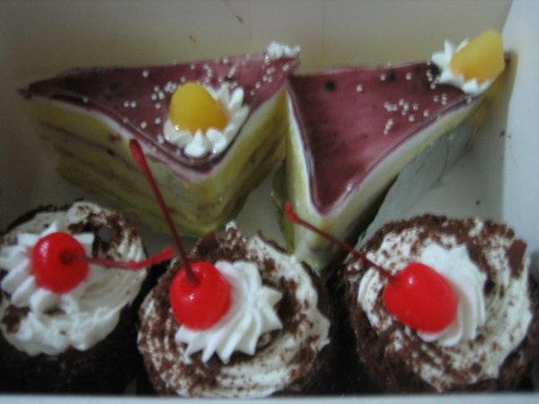 紅葉蛋糕的小蛋糕