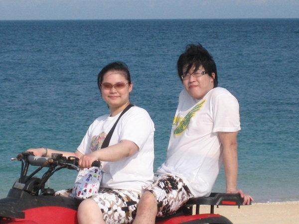 沙灘車-我和表哥