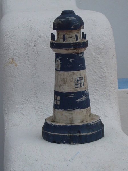 可愛的小燈塔