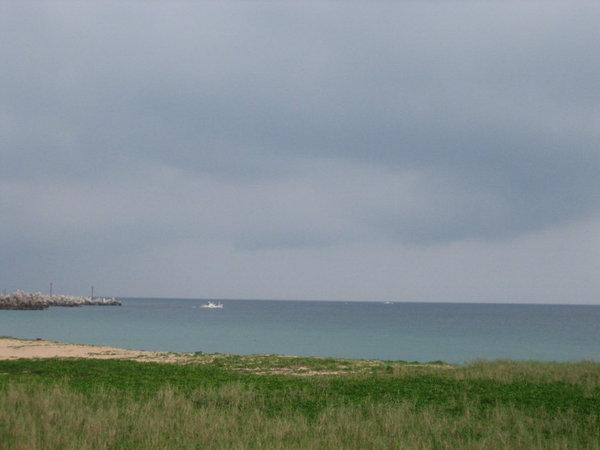 山水海灘的天空