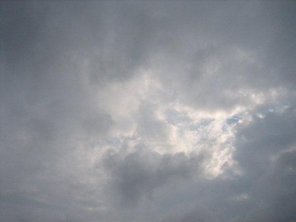 絲絨般的雲朵