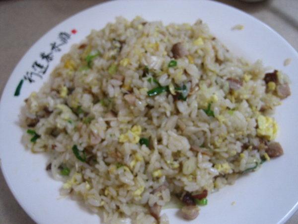 行運茶水灘─鹹魚雞粒炒飯