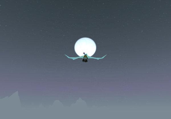 讓我們一起飛向月亮吧?!