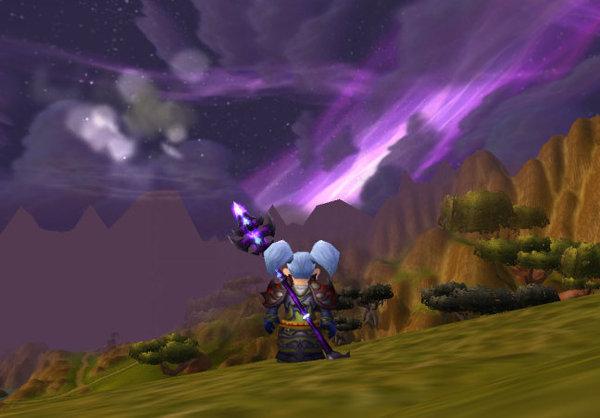 納葛蘭的紫色夜空