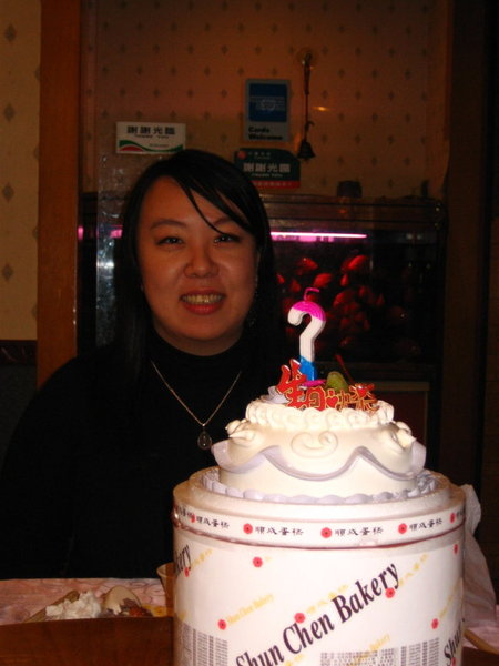 壽星和蛋糕