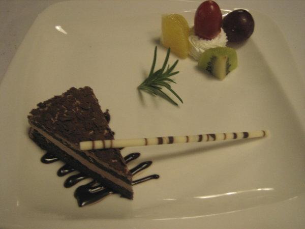 美琪牛排館-黑森林蛋糕