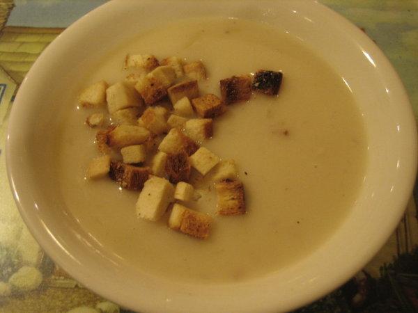 威尼斯─蘑菇濃湯