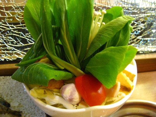 白甘蔗涮涮鍋-菜盤