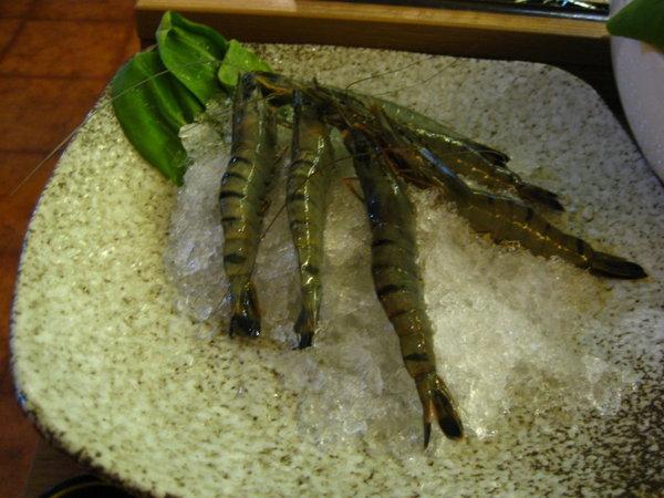 白甘蔗涮涮鍋-草蝦
