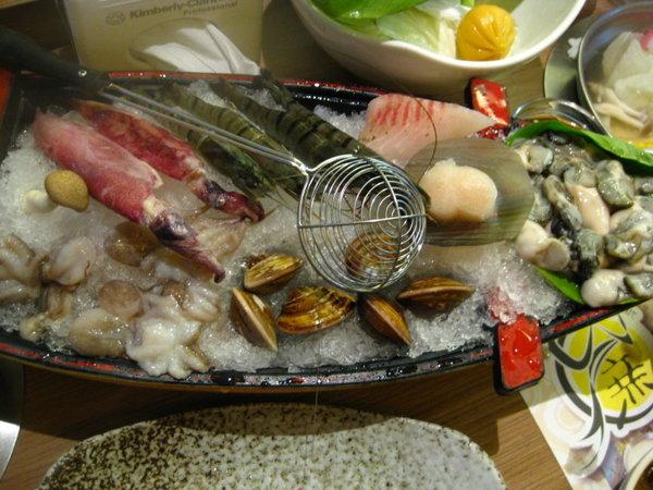 白甘蔗涮涮鍋-海鮮