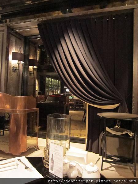 復古風的餐廳