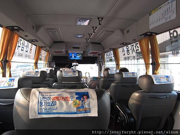6001巴士車內