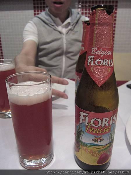 草莓比利時啤酒