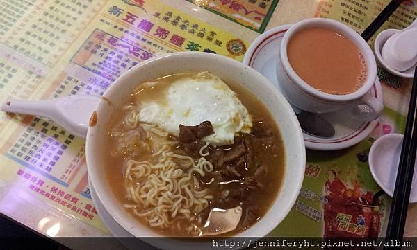 新五龍茶餐廳-公仔麵套餐