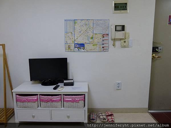HONGSI民宿-電視桌