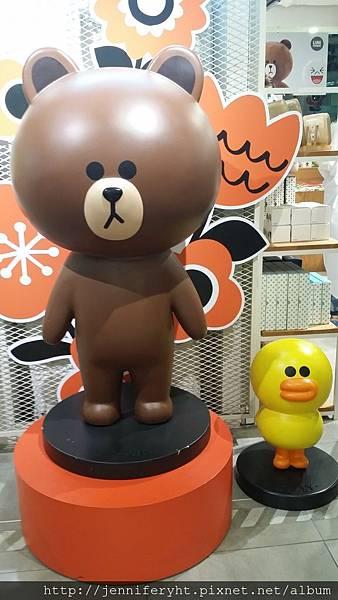 樂天PLAZA LINE專門店-熊大和小鴨