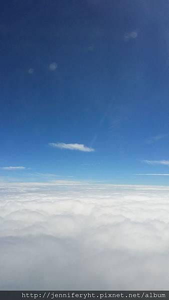 很美的三萬英呎高空