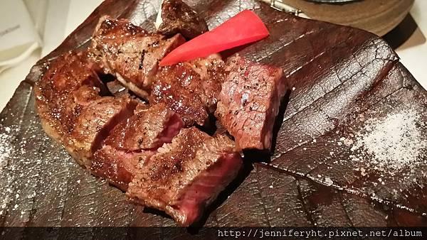 單點-牛肉備長炭燒