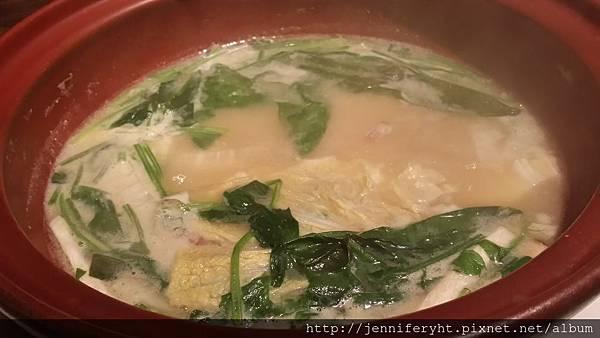 套餐-海鮮味噌湯(火鍋)