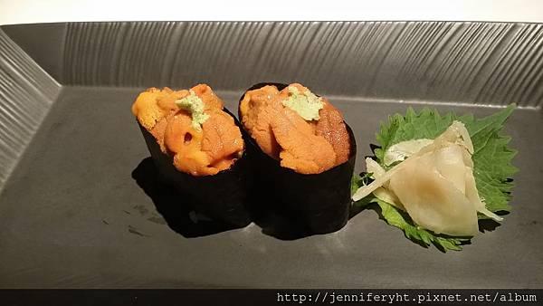 單點-馬糞海膽握壽司