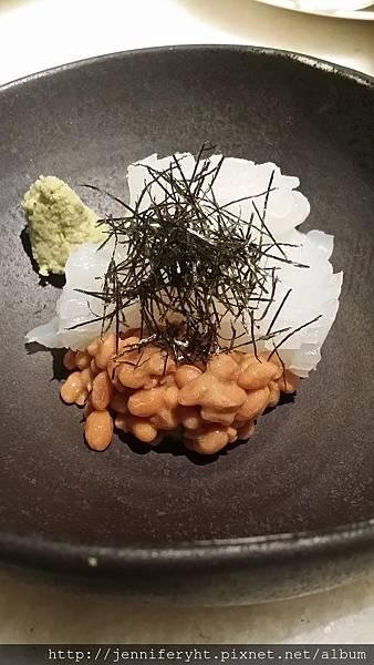 單點-墨魚納豆