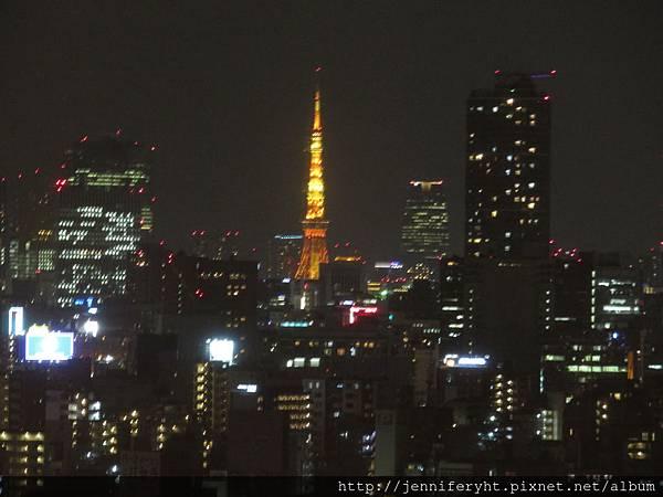 東武飯店房間可遠眺東京鐵塔