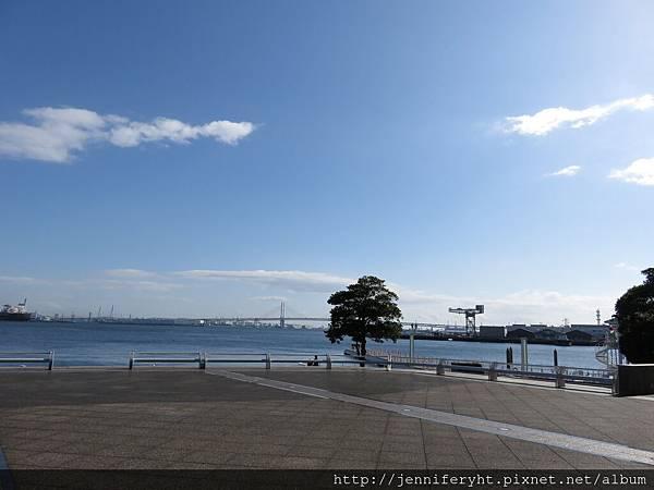 橫濱港區風景很漂亮
